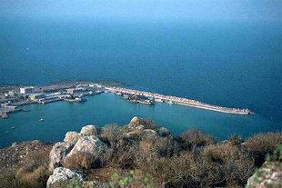 Der Hafen von Kastelli