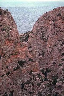 The gorge near the Katholiko Monastery, Akrotiri, Chania