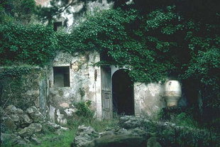 The abandon Venetian village of Mili