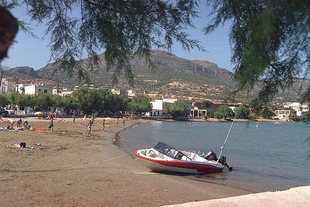 Der Strand von Makrigialos, Ierapetra