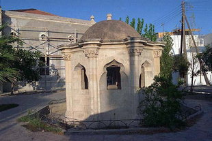 The Turkish fountain in front of a mosque, Ierapetra