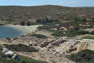 Ερείπια βασιλικής, της πρώτης Βυζαντινής περιόδου στην Ίτανο