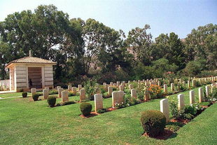 The Allied World War II Cemetery in Souda
