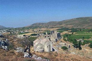 La villa Vénitienne Voila et l'église, Handras