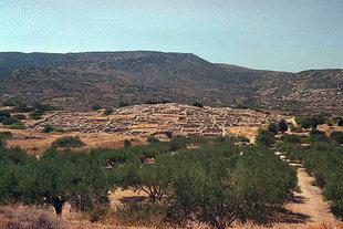 Die minoische Stätte von Gournia