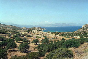The Minoan site of Gournia
