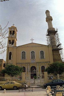 Η εκκλησία του Αγίου Νικολάου στην Σπλάντζια, Χανιά