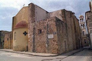 Ursprünglicher Teil von der Agios Nikolaos-Kirche in Splantzia, Chania