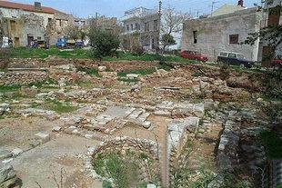 Les excavations grecques et suédoises (endroit de Master's Impression) , Chania