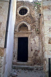 Renieri Chapel in the Old Town of Chania