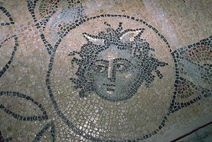 Mosaic floors (3C) from private homes in Chania