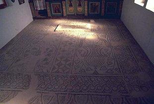 Μωσαϊκά από τη βασιλική εκκλησία του 6ου αιώνα στη Σούγια