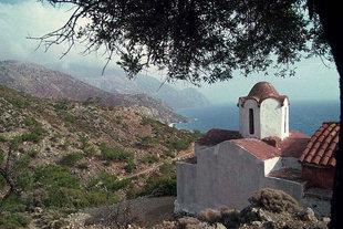 L'église d'Agia Irini à Sougia