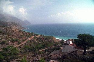 Die Agia Irini-Kirche in Sougia