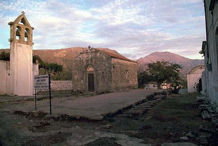 The church of the Panagia in Thronos