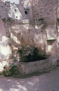 The Venetian fountain of the Vrondisi Monastery