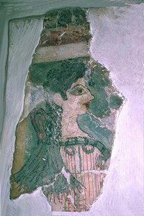 The Parisienne fresco from Knossos