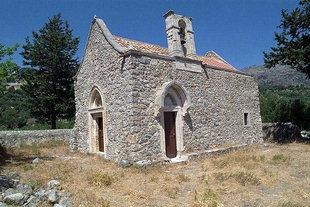 Die byzantinische Agios Georgios-Kirche in Males