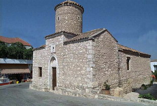 Die byzantinische Agios Thomas-Kirche, Agios Thomas