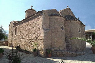 The Byzantine church of Agios Thomas, Agios Thomas