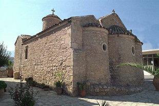 La chiesa bizantina di Agios Thomàs, Agios Thomàs