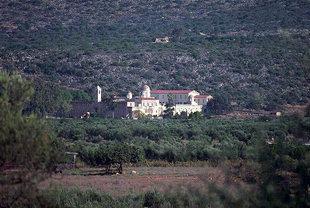Le Monastère d'Agia Triada à Akrotiri de Chania