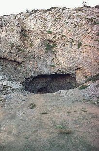 The Ideon Andron Cave at the base of Psiloritis
