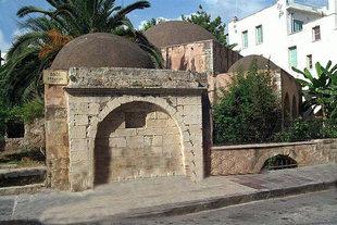 The fountain of the Kara Musa Mosque, Rethimnon