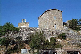 The Hazi Michali Yannaris' home in Omalos