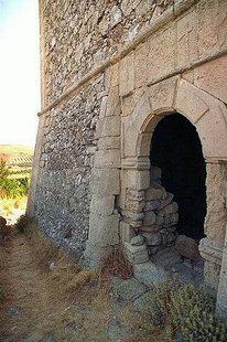 Le portail de la Villa Voila, Handras