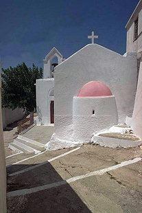 Die byzantinische Agia Paraskevi-Kirche in Ziros