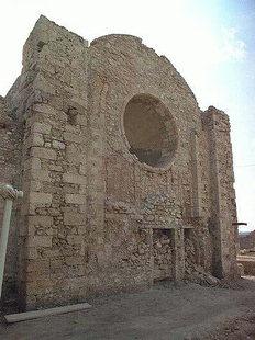 The Venetian church of San Pietro in Iraklion