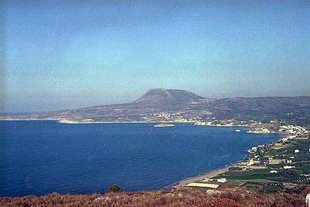 Bay and beach of Kalives