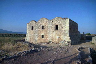 The Byzantine  monastery of Agios Ioannis Theologos in Aptera