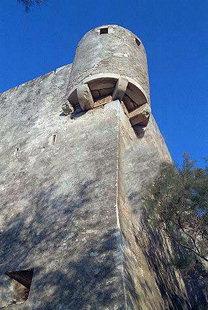 Ένας πυργίσκος στο Βενετικό φρούριο της Σητείας