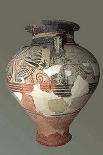 Minoan pottery from Mochlos