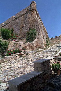 Agios Pavlos Bastion the protector of the Fortezza's gate, Rethimnon