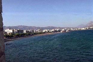 Η παραλία της Ιεράπετρας