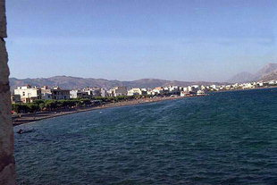 La plage d'Ierapetra
