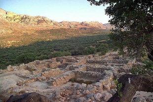 Die minoische Stätte von Vasiliki, Ierapetra