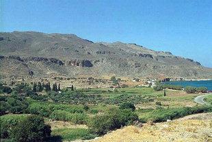 Die minoische Stätte von Zakros