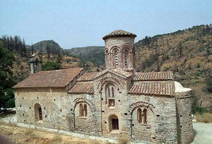 The Byzantine church of Agios Nikolaos in Kyriakoselia