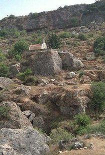 Die Kirche der Panagia auf den Zwei Felsen, Fres