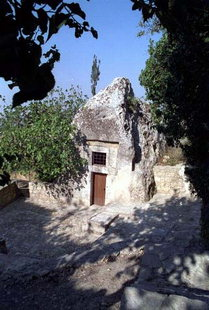 Agios Ioasaf Church in Agios Thomas