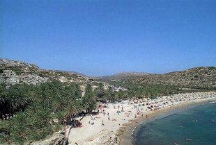 La plage de Vai