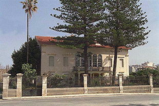 Eleftherios Venizelos's home in Halepa, Chania
