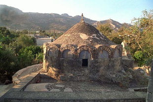 The Byzantine church of Agios Georgios in Episkopi, Ierapetra