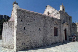 The church of the Panagia Vriomeni in Meseleri