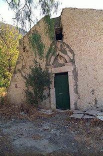 Η παλιότερη εκκλησία κάτω από τη Μονή Αντωνίου στην Άρβη