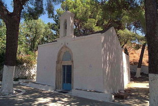 The monastery church of Agia Moni in Ano Viannos